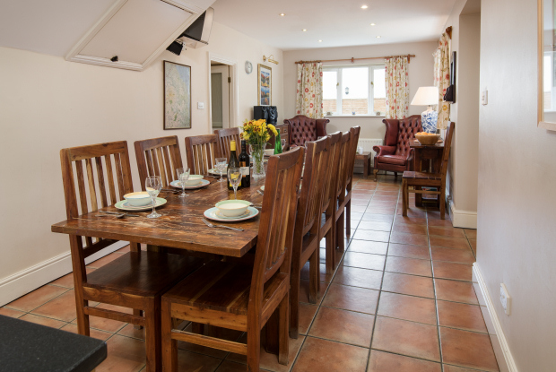 Dining Area, The Farmhouse Holiday Cottage, Northumberland
