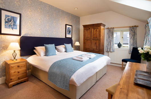 Double Bedroom, The Farmhouse Holiday Cottage, Northumberland