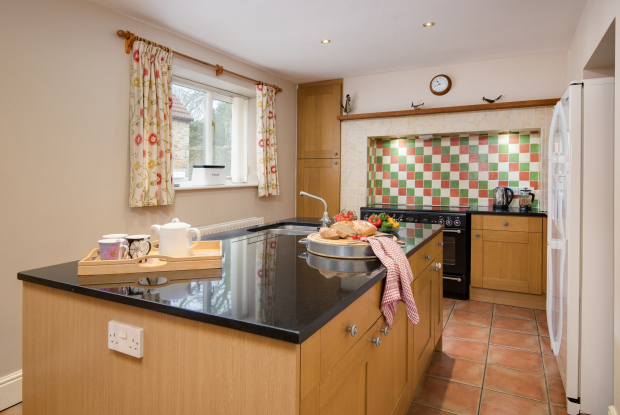 Kitchen, The Farmhouse Holiday Cottage, Northumberland