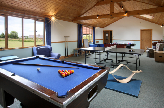 Games Room, Village Farm, Northumberland
