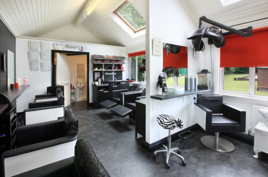 Hairdressing Salon, Village Farm, Northumberland