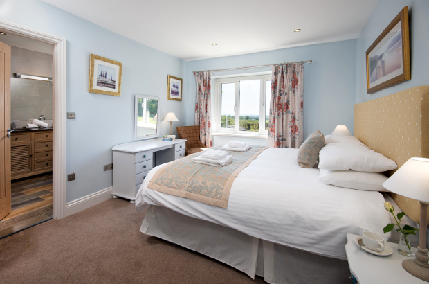 Double Bedroom, Melrose Holiday Cottage, Northumberland