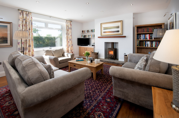 Lounge, Melrose Holiday Cottage, Northumberland