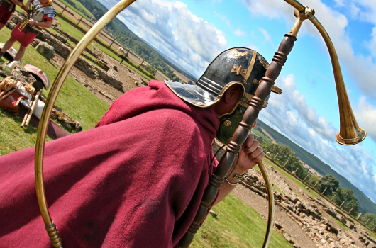 Roman Soldier, Hadrian's Wall, Northumberland