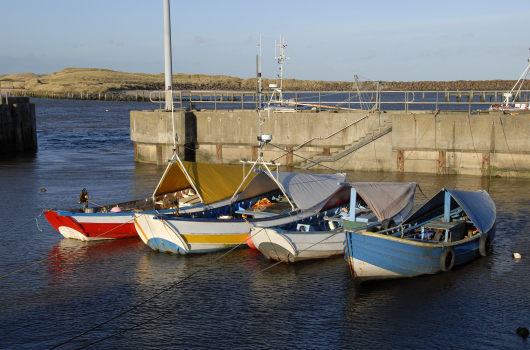 Amble Harbour, Northumberland