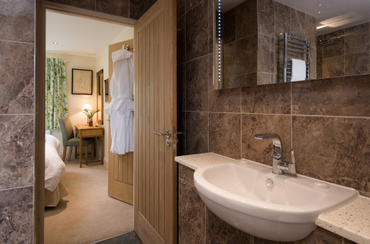 Bathroom, Brooks Cottage, Northumberland