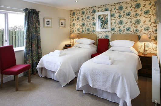 Twin Bedroom, Farriers View, Northumberland