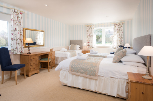 Twin Bedroom, Viewfield, Northumberland