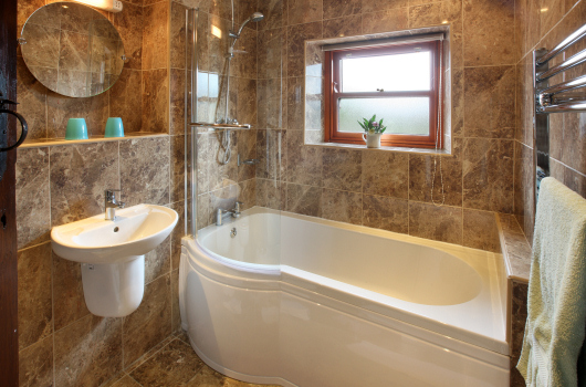 Bathroom, Wool Cottage, Northumberland